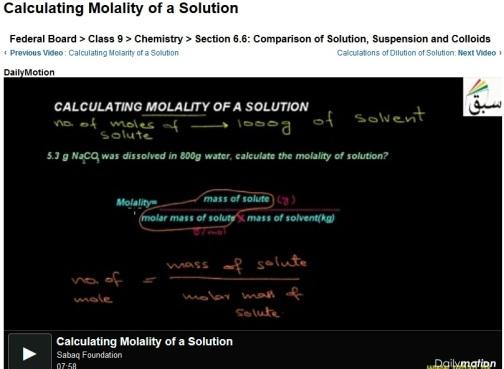 chemistry problem video