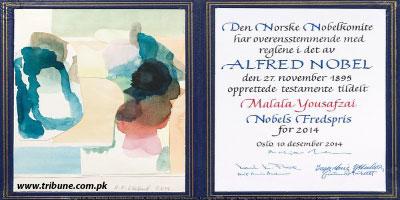 Malala's Nobel Peace Prize